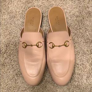Gucci Shoes - Gucci Princetown Leather Mule Pink Size 39